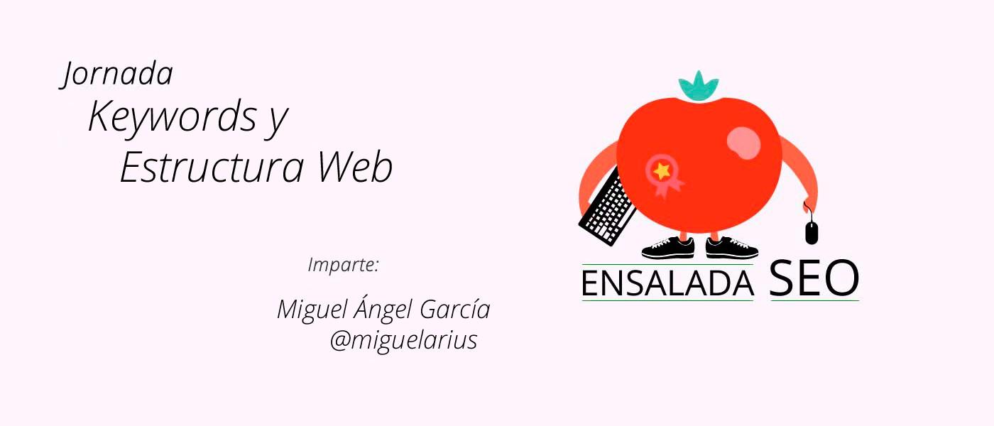 Keywords y Estructura Web en Ensalada SEO