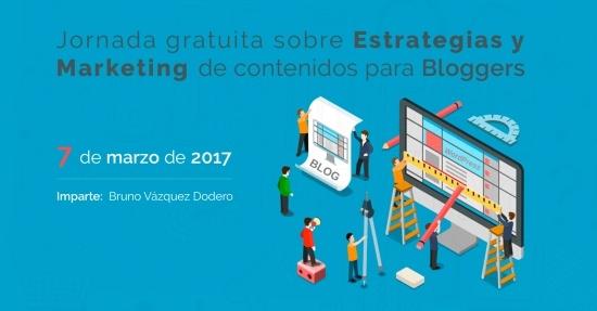 Jornada gratis sobre estrategias y marketing de contenidos para bloggers