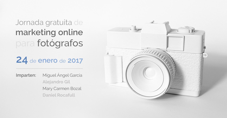 Jornada gratuita de Marketing online para fotógrafos
