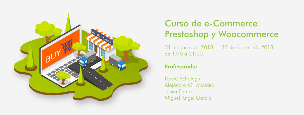Curso de e-Commerce: Prestashop y Woocommerce