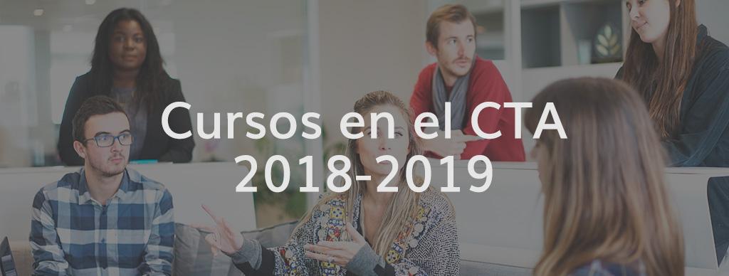 Cursos del CTA: 2018-2019