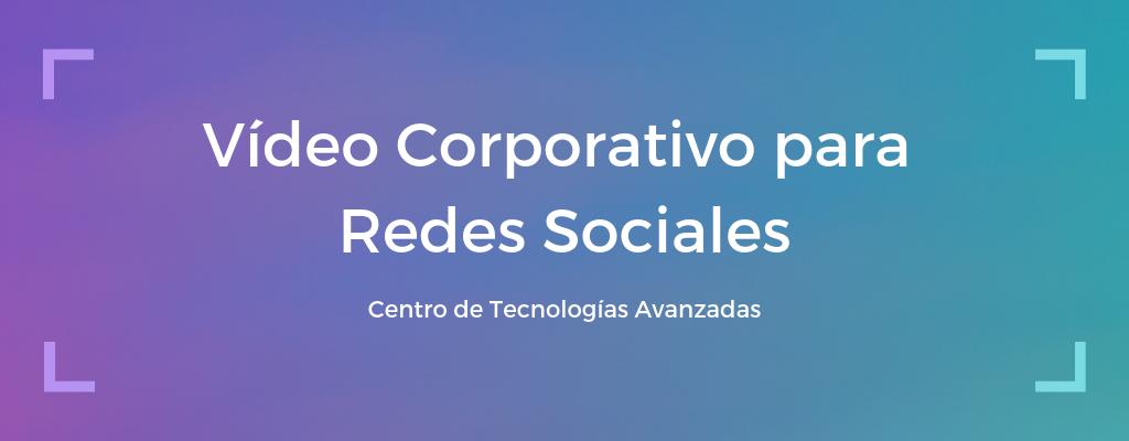Curso: Vídeo corporativo para redes sociales
