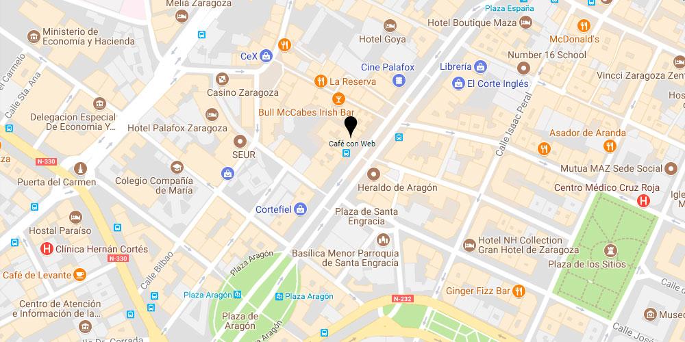 Café con Web Agencia de Marketing Online, SEO y Diseño Web desde Zaragoza